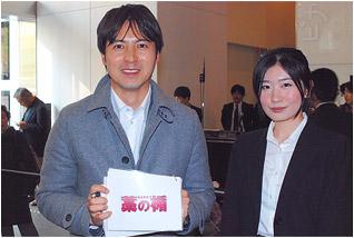 日本テレビの桝太一アナウンサーと